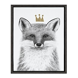 Marmalade™ Royal Forester Fox 16-Inch x 20-Inch Framed Canvas Wall Art in Dark Grey