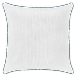 Piper & Wright Katelyn 18-Inch Square Throw Pillow in White