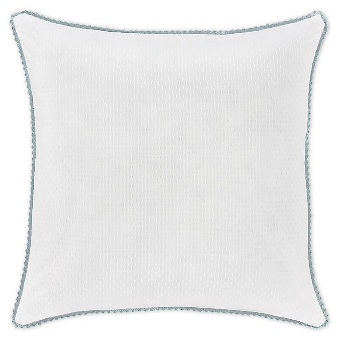 Alternate image 1 for Piper & Wright Katelyn 18-Inch Square Throw Pillow in White