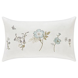 Piper & Wright Katelyn Boudoir Throw Pillow in White