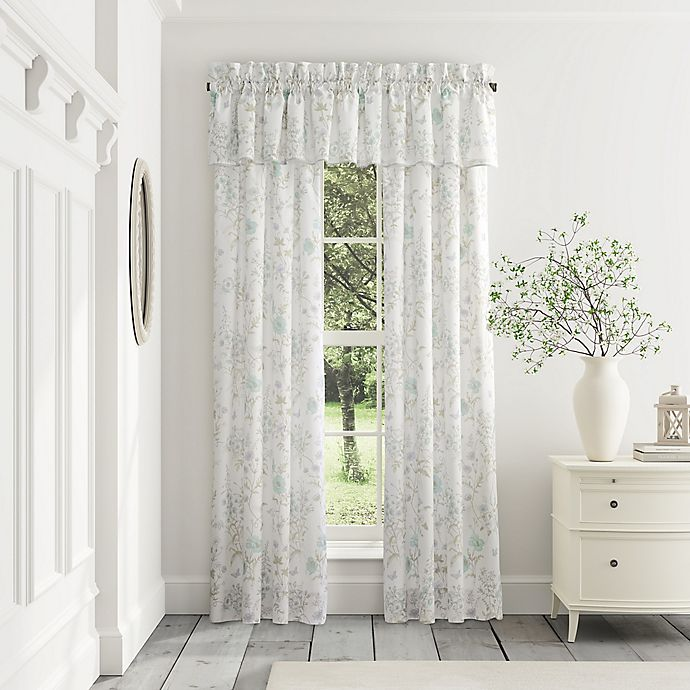 Alternate image 1 for Piper & Wright Katelyn 2-Pack 84-Inch Rod Pocket Window Curtain in White
