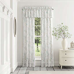 Piper & Wright Katelyn 2-Pack 84-Inch Rod Pocket Window Curtain in White