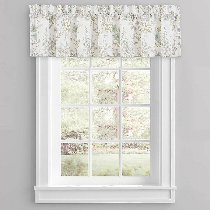 Alternate image 1 for Piper & Wright Katelyn Window Valance in White