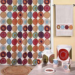 Dot Swirl 72-Inch x 72-Inch Shower Curtain