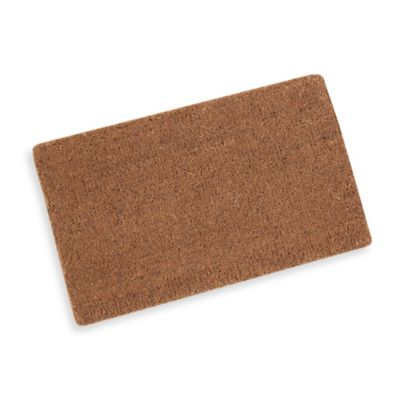Plain Coir Door Mat Bed Bath Amp Beyond