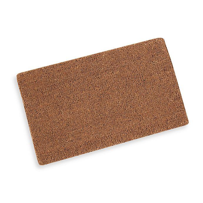 Alternate image 1 for Plain Coir Door Mat