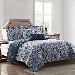 MHF Home Allyson Reversible Comforter Set