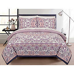 Casual Chic Ruby Reversible Comforter Set