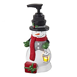 Scenic Snowman Lotion Dispenser