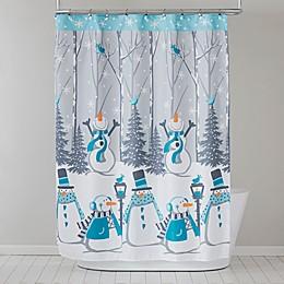 Snow Buddies Seasonal Shower Curtain Collection