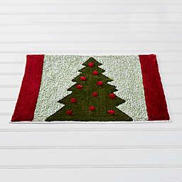Santa's Trees Bath Rug Collection