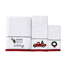 Holiday Trucks Bath Towel Collection