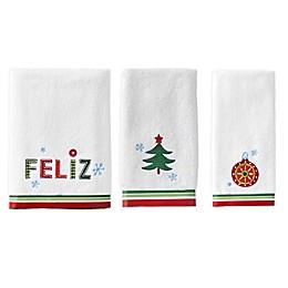 Feliz Navida Seasonal Bath Towel Collection
