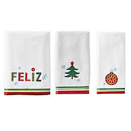 Feliz Navida Seasonal Bath Towel Collection