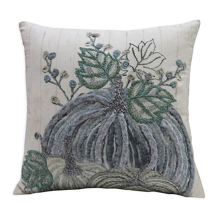 Alternate image 1 for Bee & Willow™ Home Vintage Pumpkin Square Throw Pillow