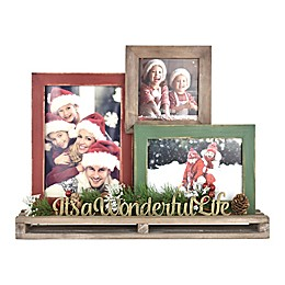 It's a Wonderful Life 3-Photo Pallet Frame