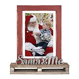 Santa & Me Pallet Frame