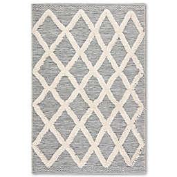 Jaipur Living Bandalier Indoor/Outdoor Rug in Grey/Cream