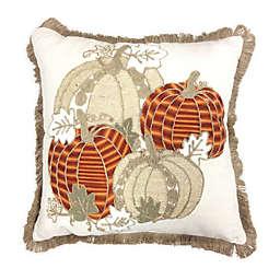 Plaid Oblong Throw Pillow