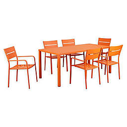 Pangea Home Miami 7-Piece Dining Set