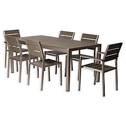 Pangea Home Roy 7-Piece Outdoor Dining Set