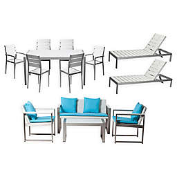 Pangea Home Roy X-Royal 13-Piece Patio Furniture Set