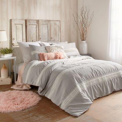 Peri Home Tufted Dot Stripe Comforter Set Bed Bath Amp Beyond