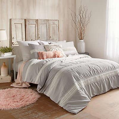 Peri Home Tufted Dot Stripe Comforter Set