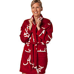 University of Alabama Ladies Fleece Bathrobe