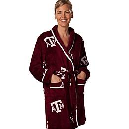 Texas A & M University Ladies Fleece Bathrobe