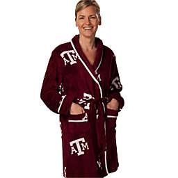 Texas A & M University Ladies Fleece Bathrobe