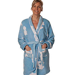 University of North Carolina Ladies Fleece Bathrobe