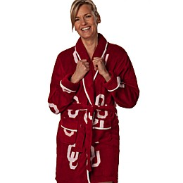 University of Oklahoma Ladies Fleece Bathrobe