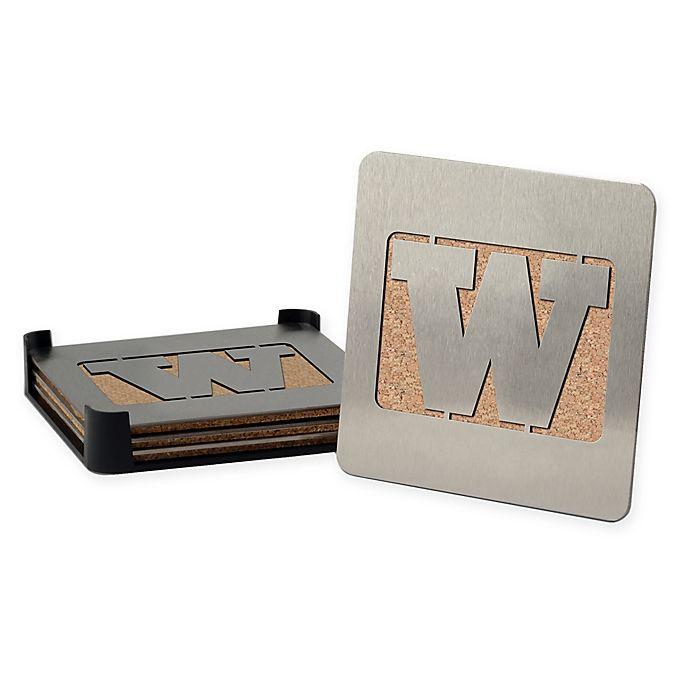 Alternate image 1 for University of Washington 4-Piece Boaster Coasters Set
