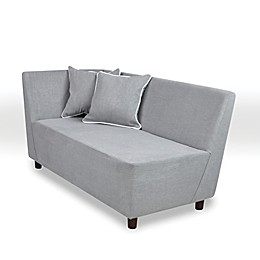 Tween Chaise in Merino Grey