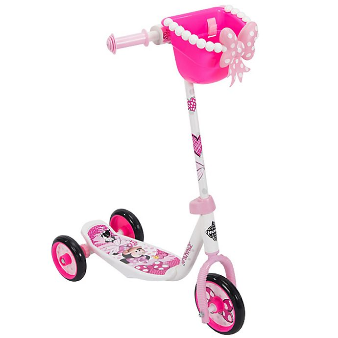 Alternate image 1 for Huffy® Disney® Minnie Mouse 3-Wheel Scooter