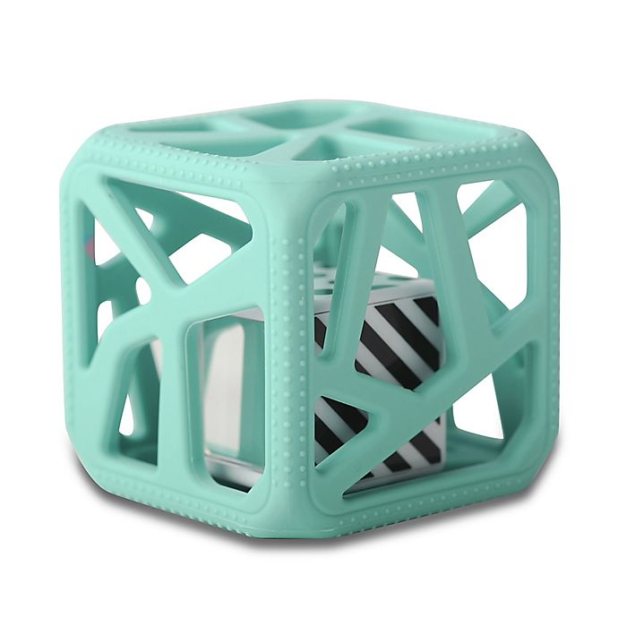 Alternate image 1 for Munch Baby Malarkey Kids Chew Cube in Mint