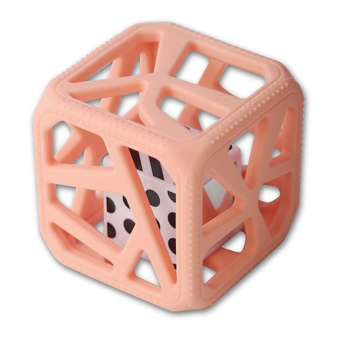 Alternate image 1 for Munch Baby Malarkey Kids Chew Cube in Pink