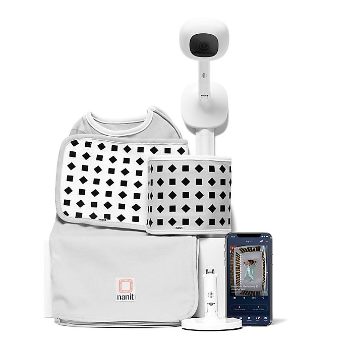 Alternate image 1 for Nanit Plus™ Baby Monitor and Breathing Wear™ Bundle