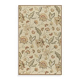 Surya Ovar Indoor/Outdoor Area Rug in Beige