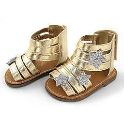 Rising Star™ Metallic Star Sandal in Gold