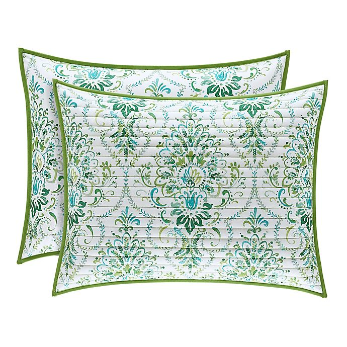 Alternate image 1 for J. Queen New York™ Kayani Standard Pillow Sham in Teal