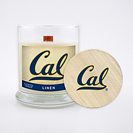 University of California, Berkeley 8 oz. Linen Candle with Wood Lid