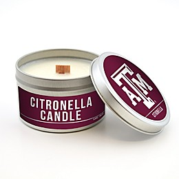 Texas A&M University 5.8 oz. Citronella Tailgating Candle