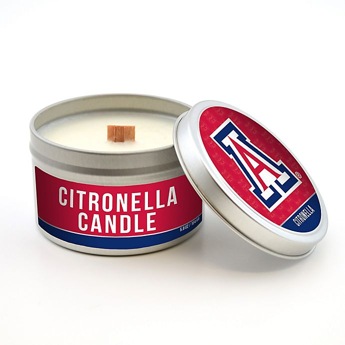 Alternate image 1 for University of Arizona 5.8 oz. Citronella Tailgating Candle