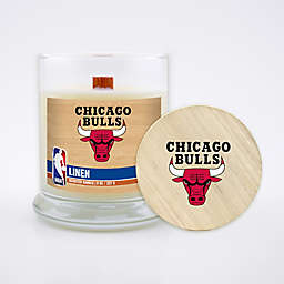 NBA 8 oz. Linen Candle with Wood Lid Collection