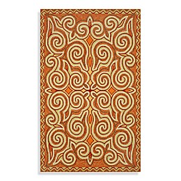 Trans-Ocean Kazakh Indoor/Outdoor Rug in Sunrise