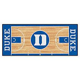 """Duke University Basketball Court 72"""" x 30"""" Runner"""