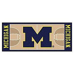 University of Michigan Basketball Court 72\