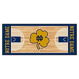 University of Notre Dame Basketball Court 72\